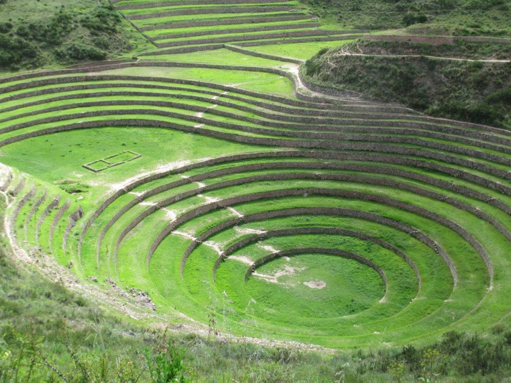 The Salt pools of Maras Moray